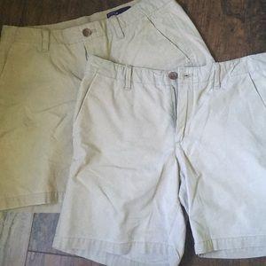 Khaki Shorts Set